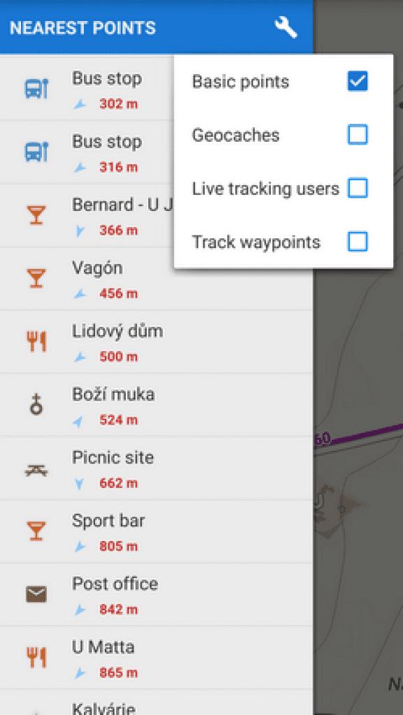 basic points locus maps