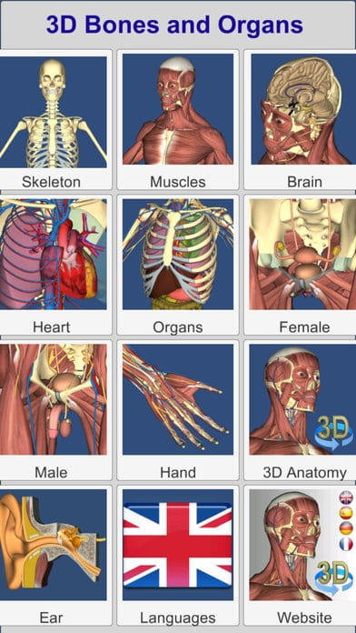 12 Best Anatomy apps for Android & IOS | Free apps for