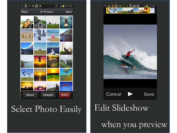 free slideshow maker screenshot