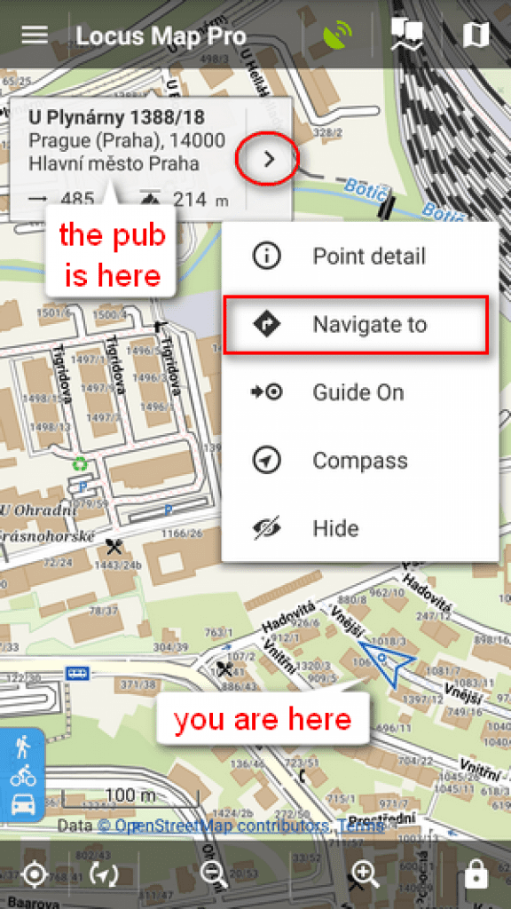 locus map