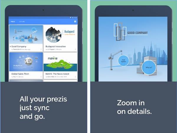 prezi screenshot android