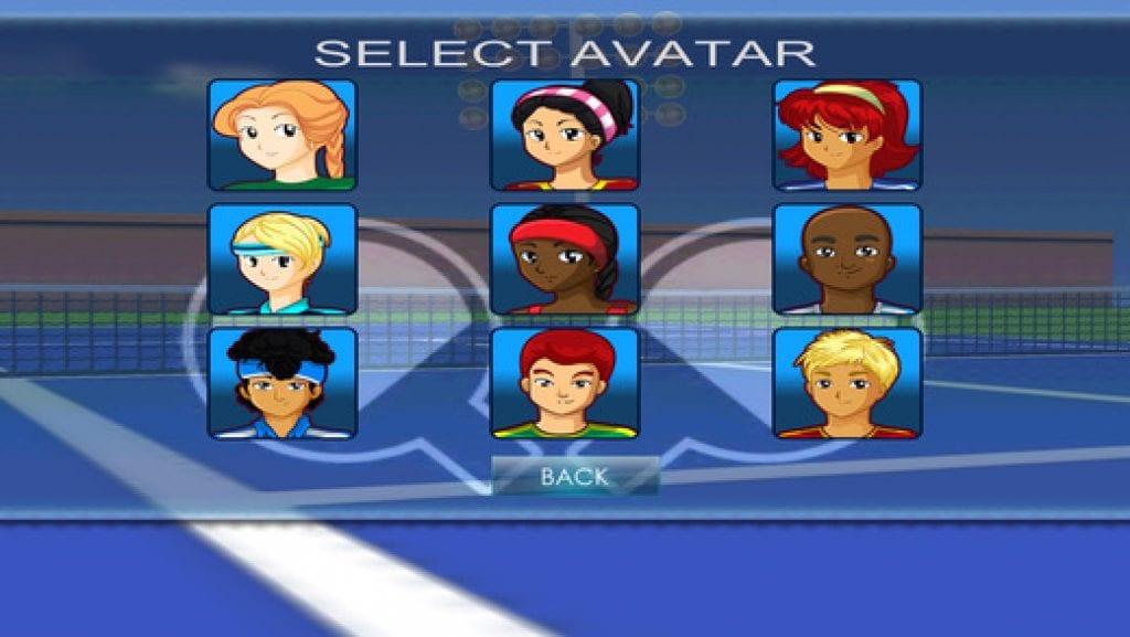 Virtual Tennis app