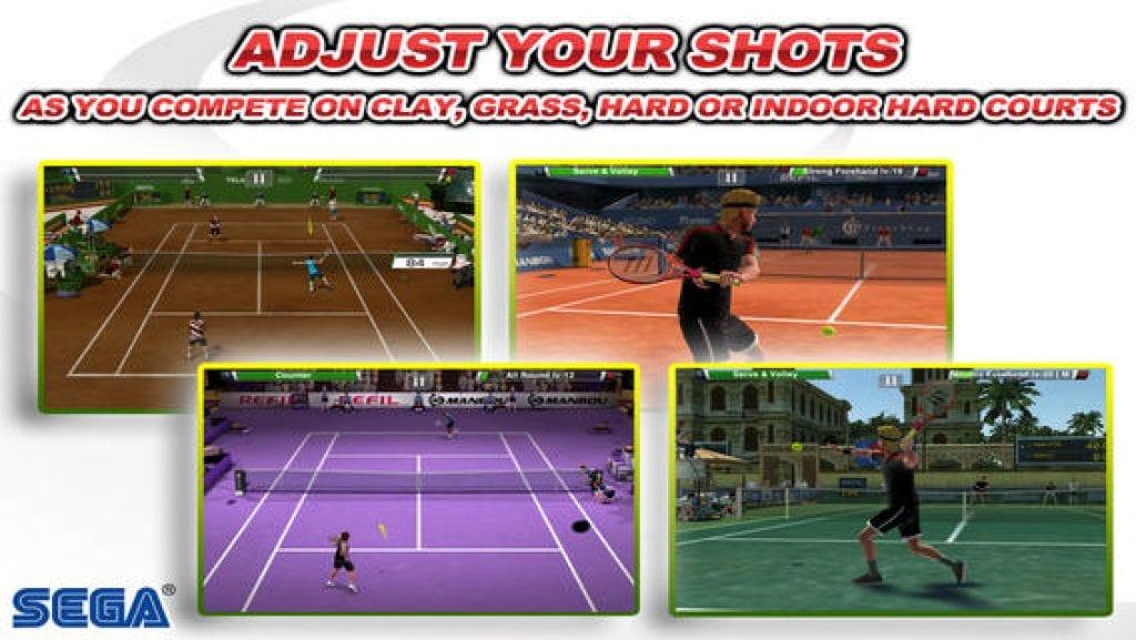 Virtua Tennis Challenge app