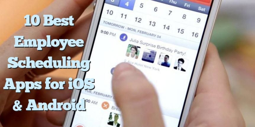 10 best employee scheduling apps for ios android free apps for v urtaz Choice Image