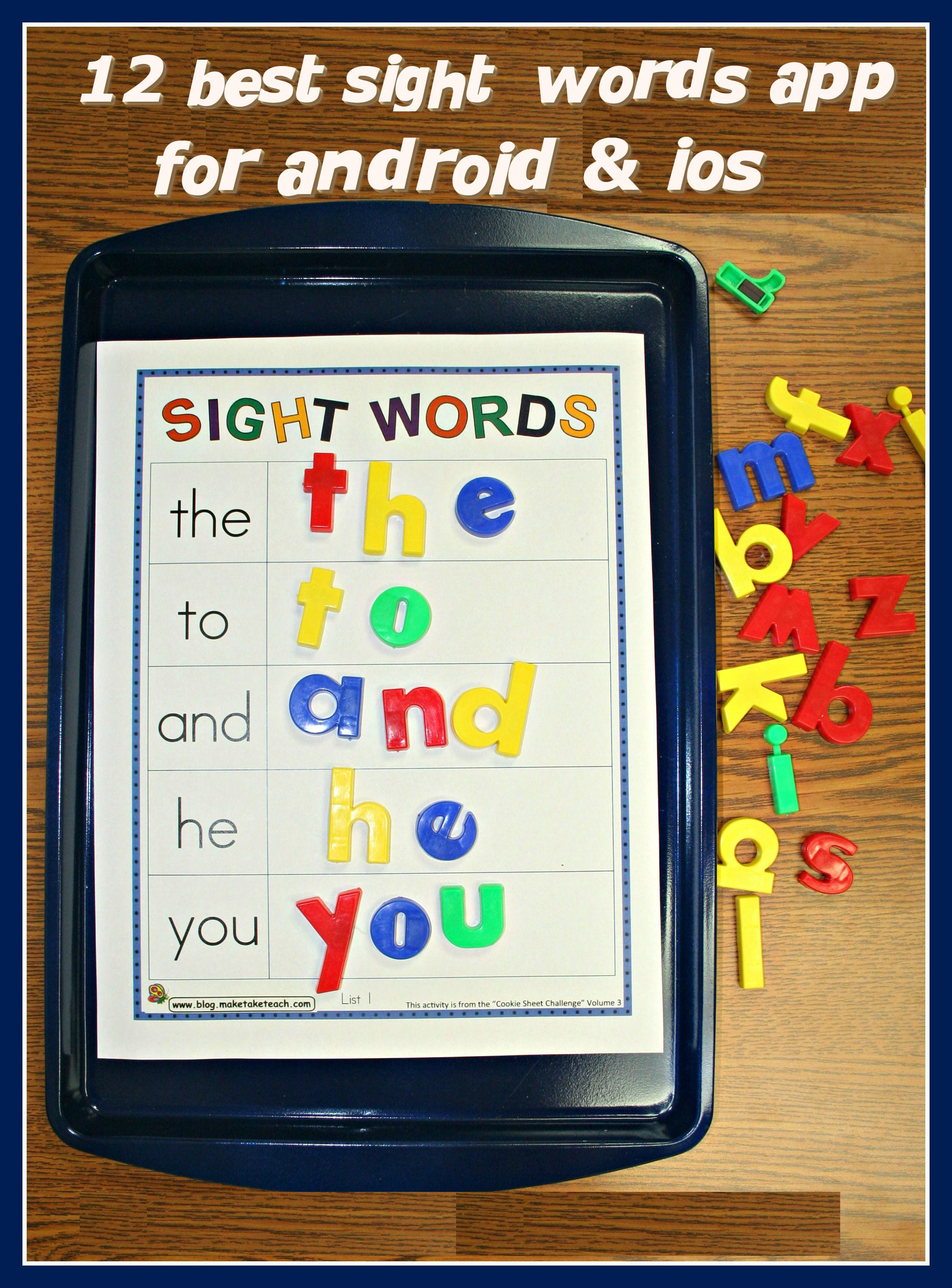 12 Best Sight Words Apps For Android Ios Free Apps For Android