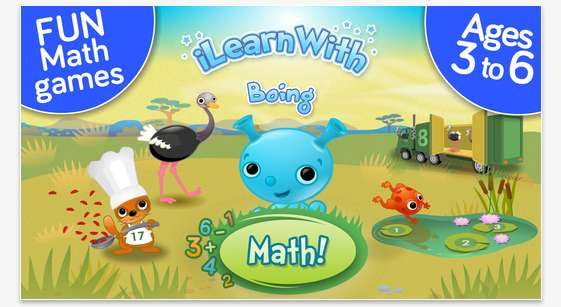 Kids Number, Addition & Subtraction Math Ed Games