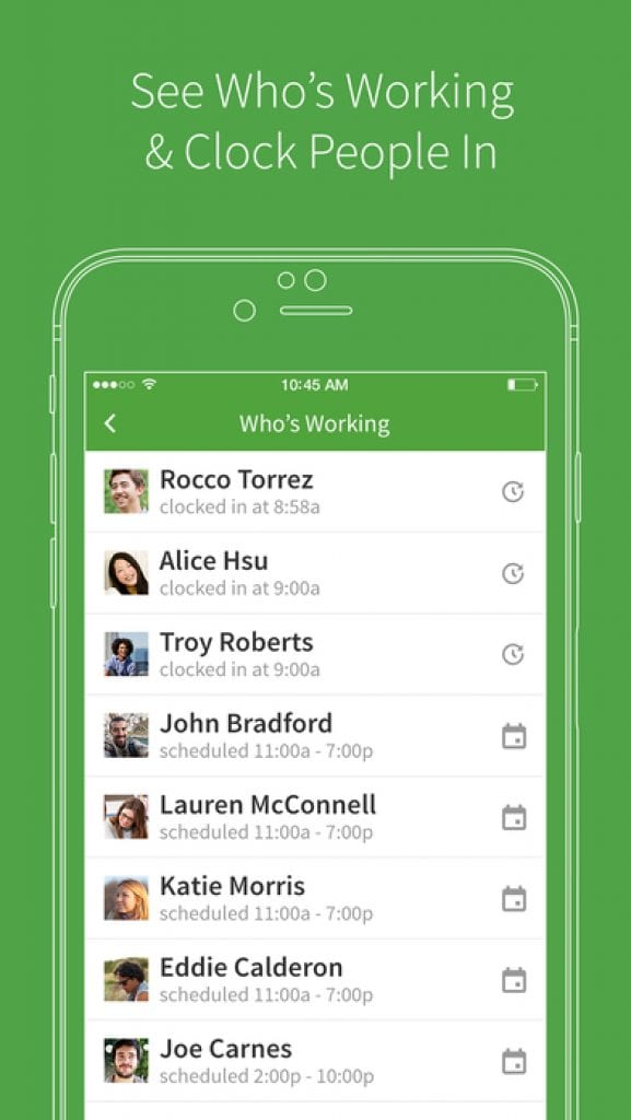 Best Employee Scheduling Apps For IOS Android Free Apps For - Invoice maker free download rocco online store
