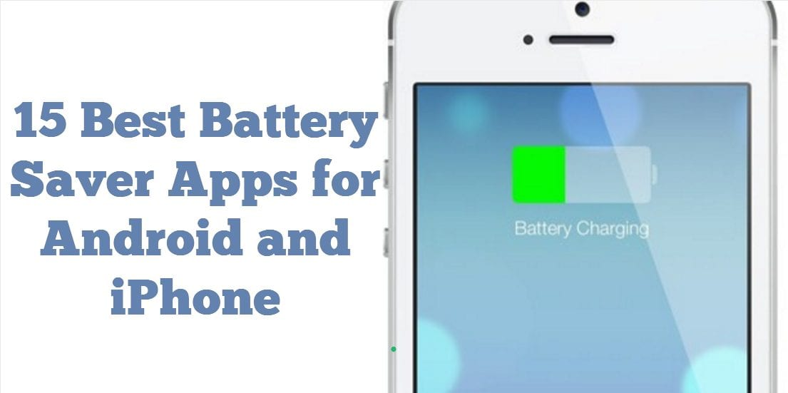 Battery save apps