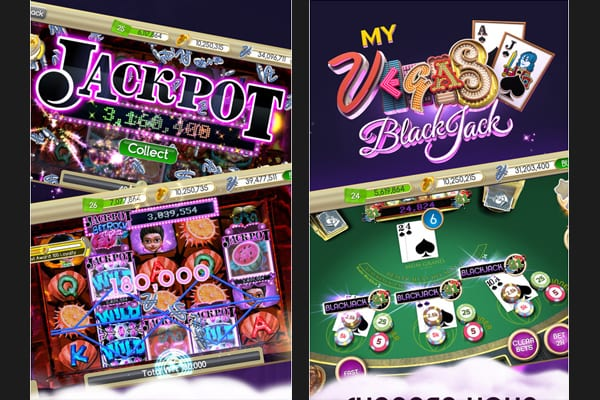 Blackjack vegas screenshot