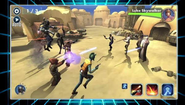 Star Wars Galaxy of Heroes screenshot
