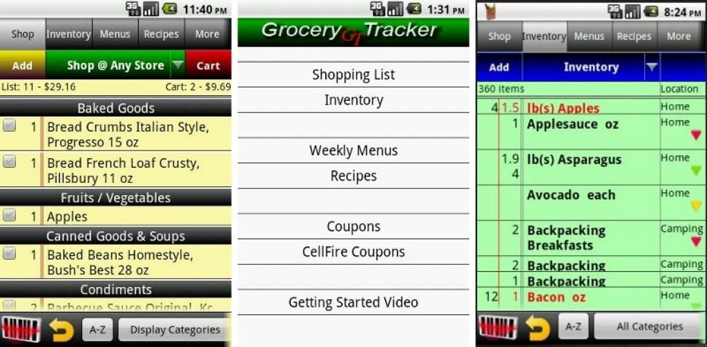 grocery-tracker