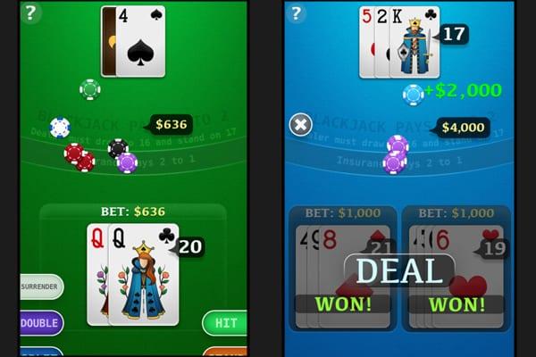 blackjack branium screenshot