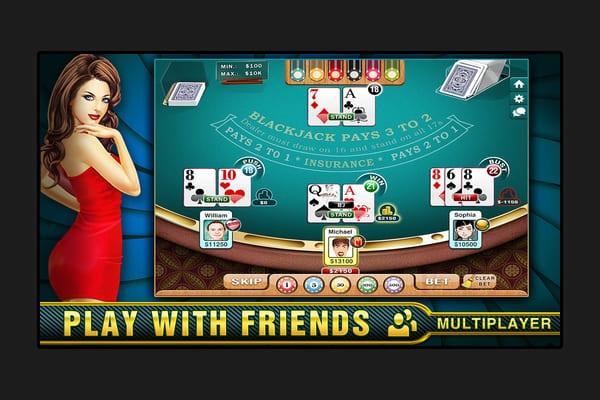 blackjack just like vegas screenshot