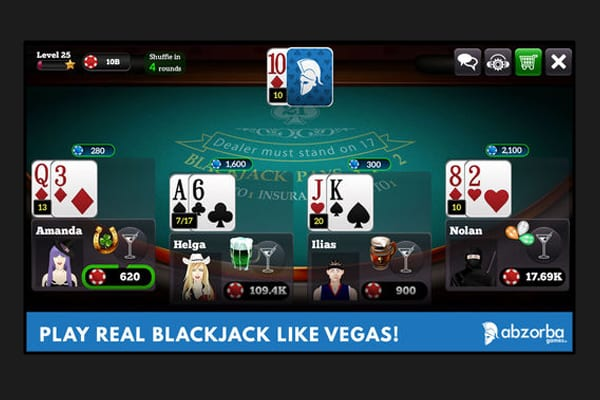 Top blackjack apps