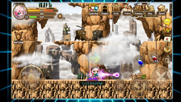 pocket maplestory screenshot