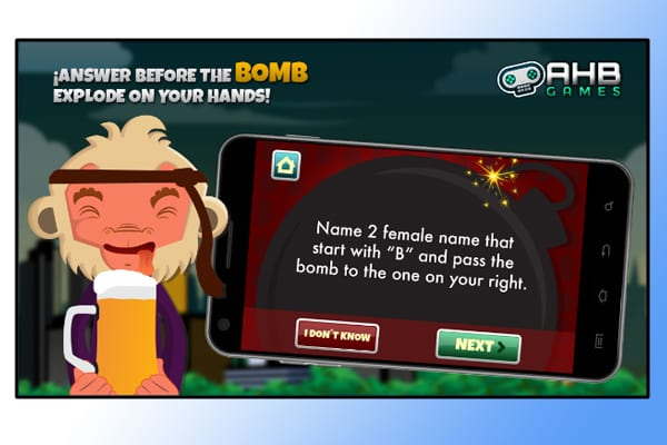 bomba drink screenshot