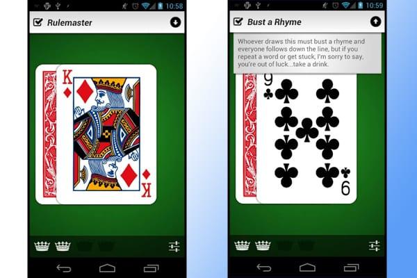 kings drinking app screenshot