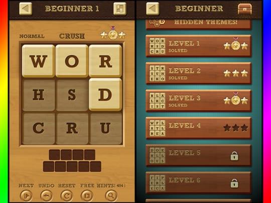 words crush screenshot