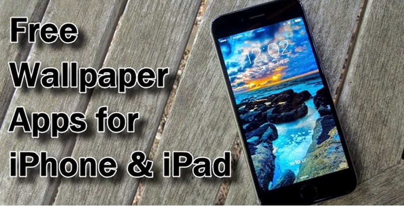 Free Wallpaper Apps for iPhone & iPad