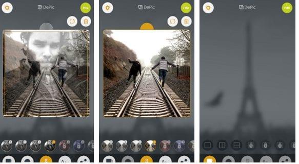 DePic - Transparent Photo Collage Maker