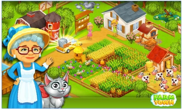 Farm Town: Happy City Day Story