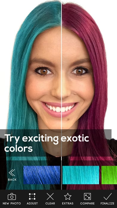 Best Apps To Choose Your Head Color AndroidiOS Free Apps - What hairstyle color suits me