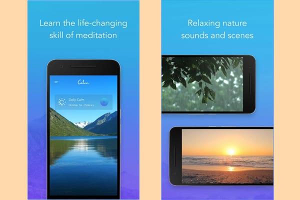 calm app screenshot
