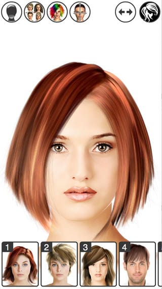 Hair Style App 8 Best Apps To Choose Your Head Color Androidios  Free Apps .