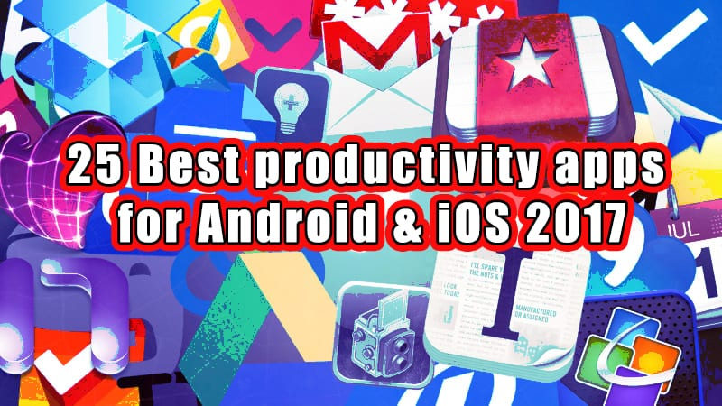 productivity apps for android and ios front