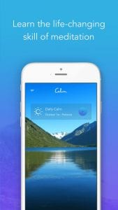 Calm: Meditation to Relax, Focus & Sleep Better