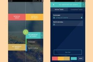 tasks screenshot