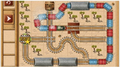 Rail Maze: Train puzzler
