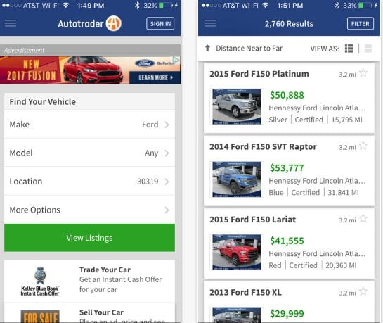 Autotrader – Find New & Used Cars For Sale