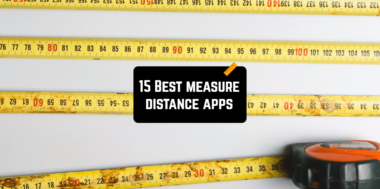 measure distance apps