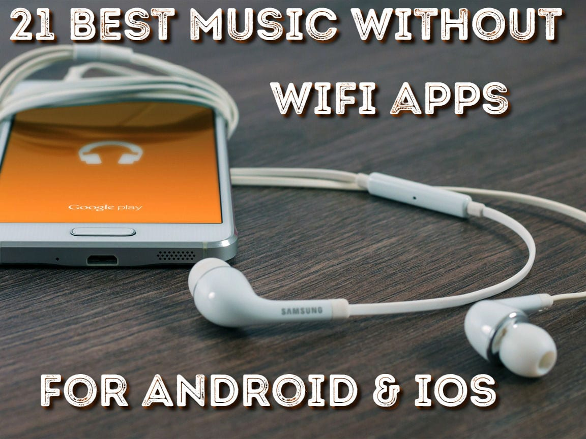 Free music apps that dont need wifi or data for iphone