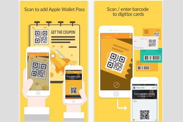 pass2u wallet screen
