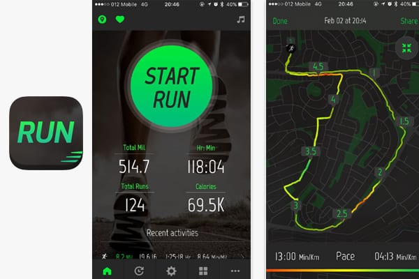 running distance tracker pic