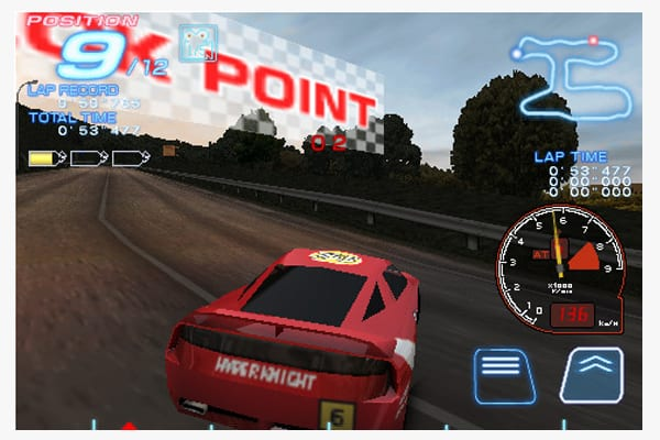 Ridge Racer Accelerated screen
