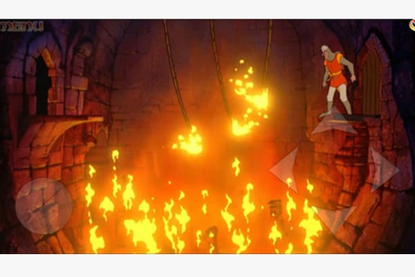 dragons lair screen