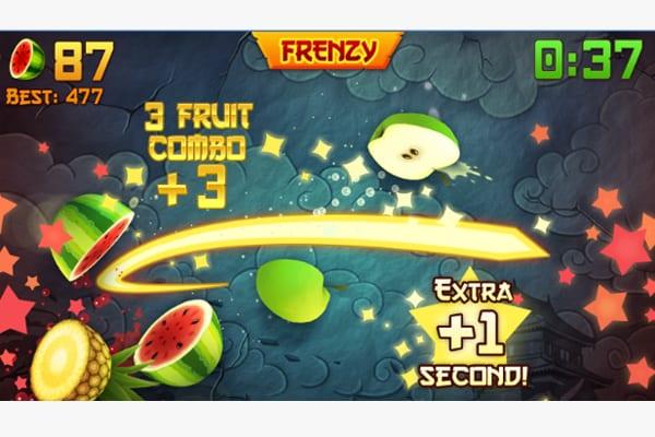 fruit ninja screen