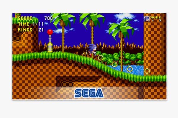 sonic the hedgegog screen