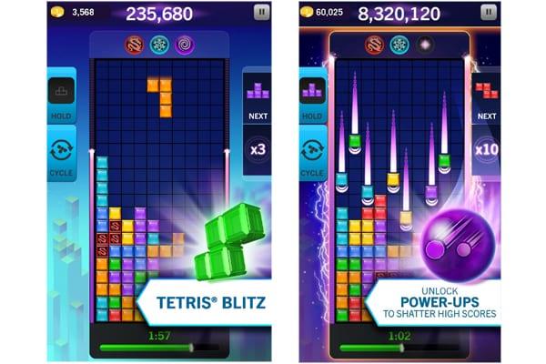 tetris blitz screen