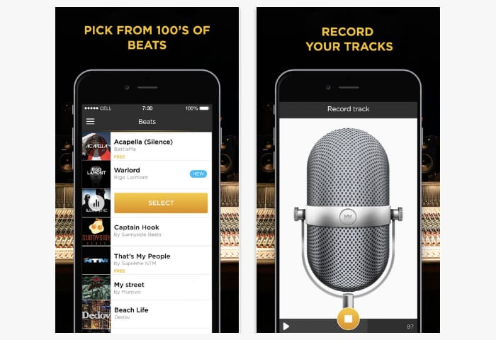battle me rap studio app