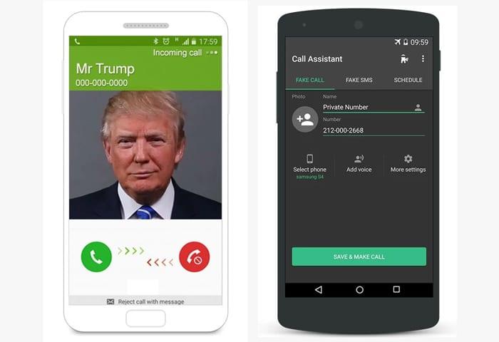 fake call app