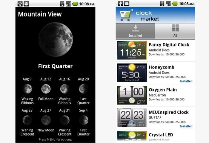 fancy widgets app