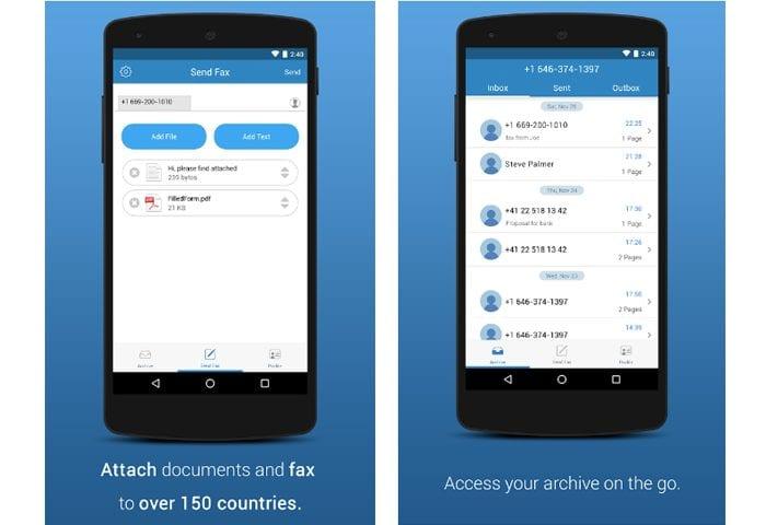 faxplus app