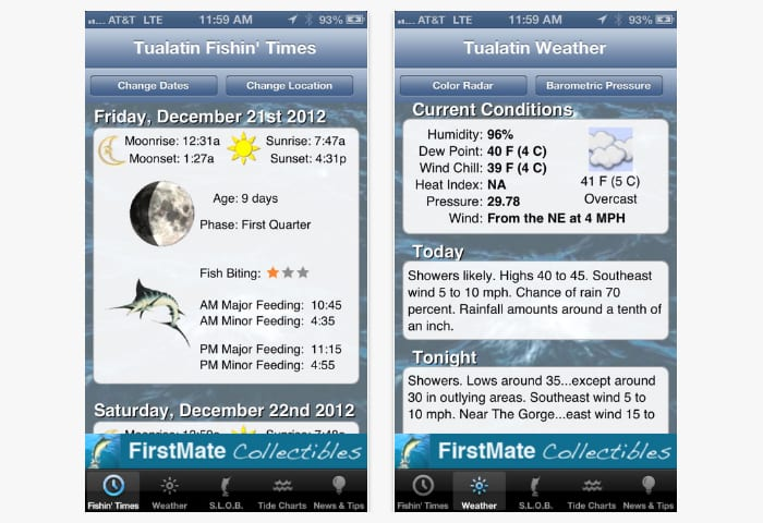 free fly fishing app for android