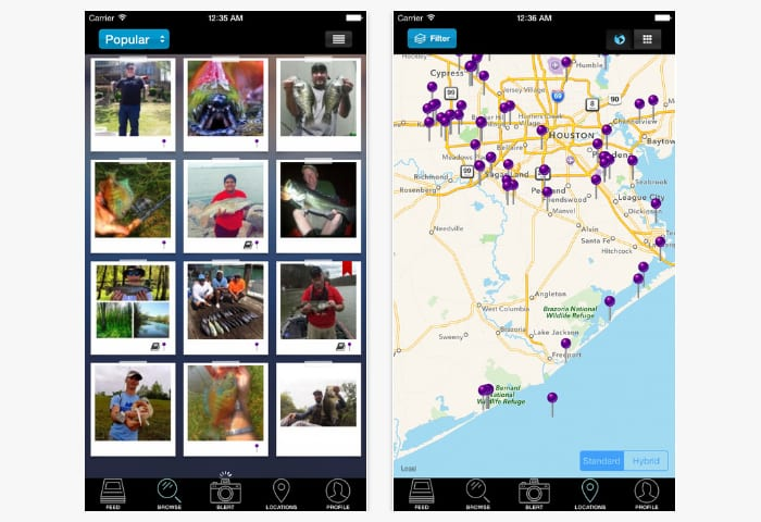 20 best fishing apps for android iphone free apps for for Best fishing forecast app