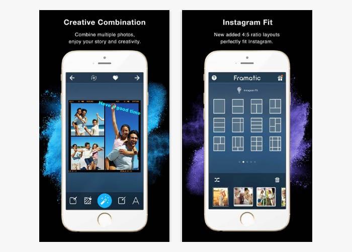 framatic app screen