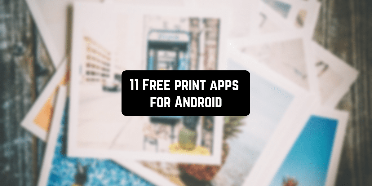 free android print apps